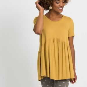 A&D Gold Muse Top XS 0-2 loose fit